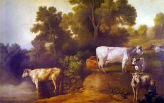 George_Stubbs-_Cattle_by_a_Stream