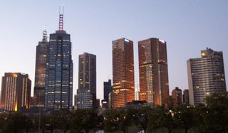 MELBOURNE CITY at Dusk